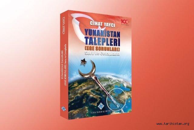 Türk Tarih Kurumundan Ege sorunlarına ilişkin yeni yayın