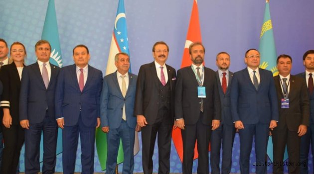 Türk Ticaret ve Sanayi Odası (TCCI) Toplantısı ve Türk İş ve Yatırım Forumu Taşkent'te düzenlendi.