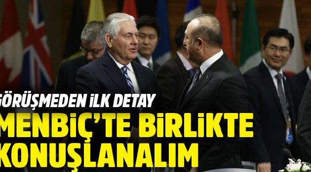 Türkiye ABD'yle Menbiç'te birlikte mi hareket edecek?