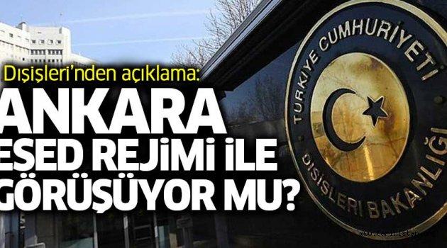 Türkiye Esed'le görüşüyor mu?