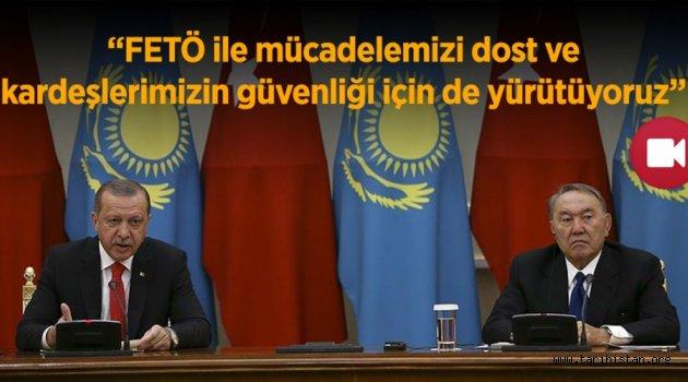Türkiye Kazakistan Arasında sıcak İlişkiler
