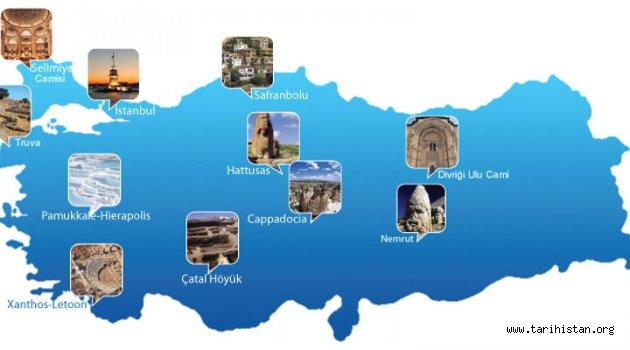 Türkiye'nin DÜNYA MİRASLARI