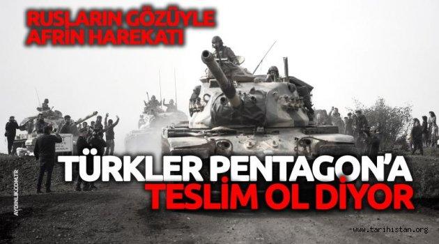 Türkiye Pentagon'a 'teslim ol' diyor!
