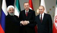 Türkiye, Rusya ve İran zirvesinden ortak açıklama! ABD'ye açık mesaj...