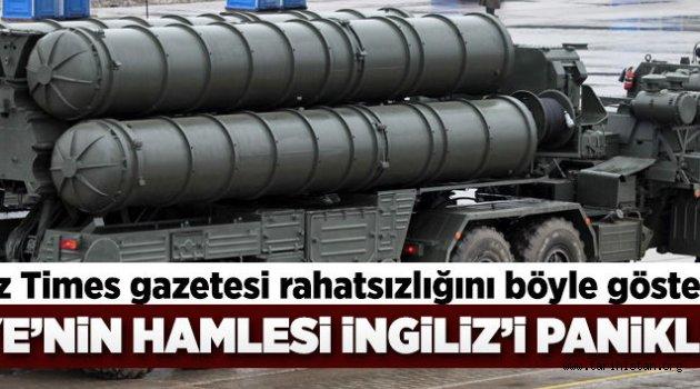 Türkiye'nin hamlesi İngiliz'i panikletti.