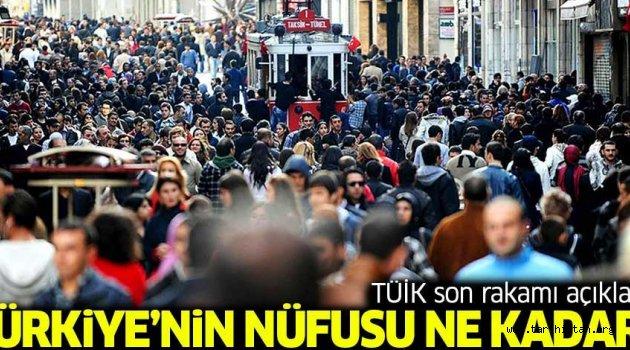 Türkiye'nin nüfusu