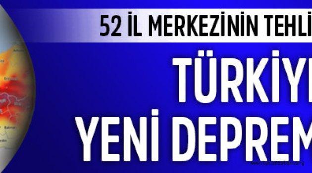 Türkiye'nin yeni deprem haritası değişti