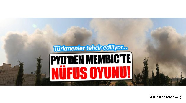 Türkmenler PYD tarafından tehcir ediliyor!