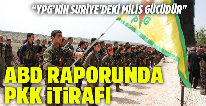 ABD Kongresi'ne sunulan istihbarat raporunda PKK itirafı