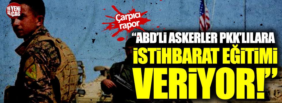 """""""ABD  PKK'lılara istihbarat eğitimi veriyor"""""""