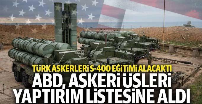 ABD, Türk askerinin eğitim üssünü yaptırım listesine aldı
