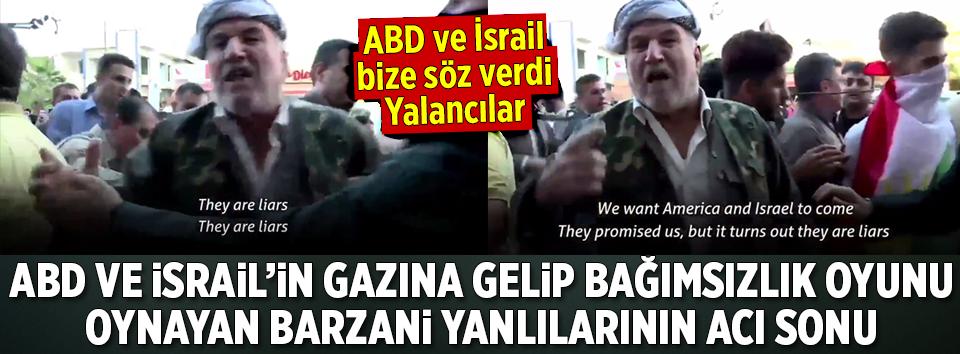 ABD ve İsrail Barzaniyi Sattı Mı?