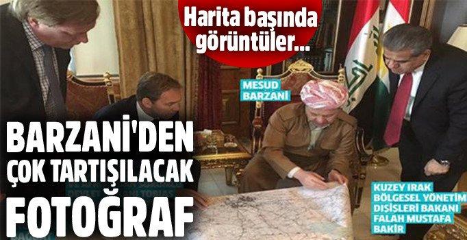 Barzani'nin İngilizlerle ortak haritası neresi?