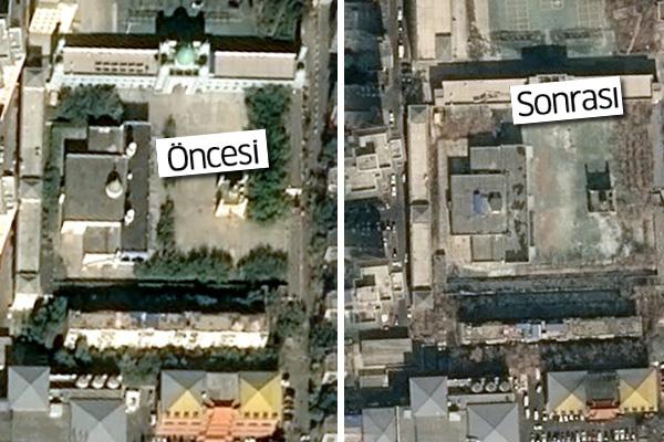Doğu Türkistan'da Çin'in yıktığı camiler