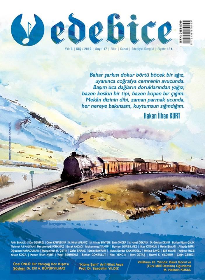 Edebice Dergisi Kış 2019 sayısı