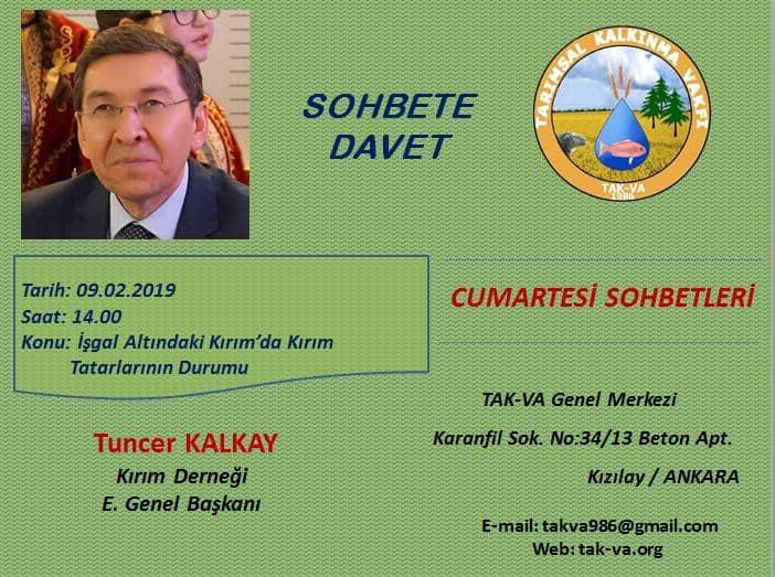 """İşgal Altındaki Kırım'da Kırım Tatarlarının Durumu"""" konferansı"""