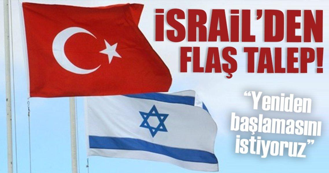 İsrail Türkiye uzlaşma sinyali