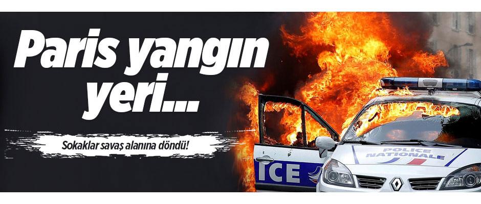 PARİS YANIYOR!