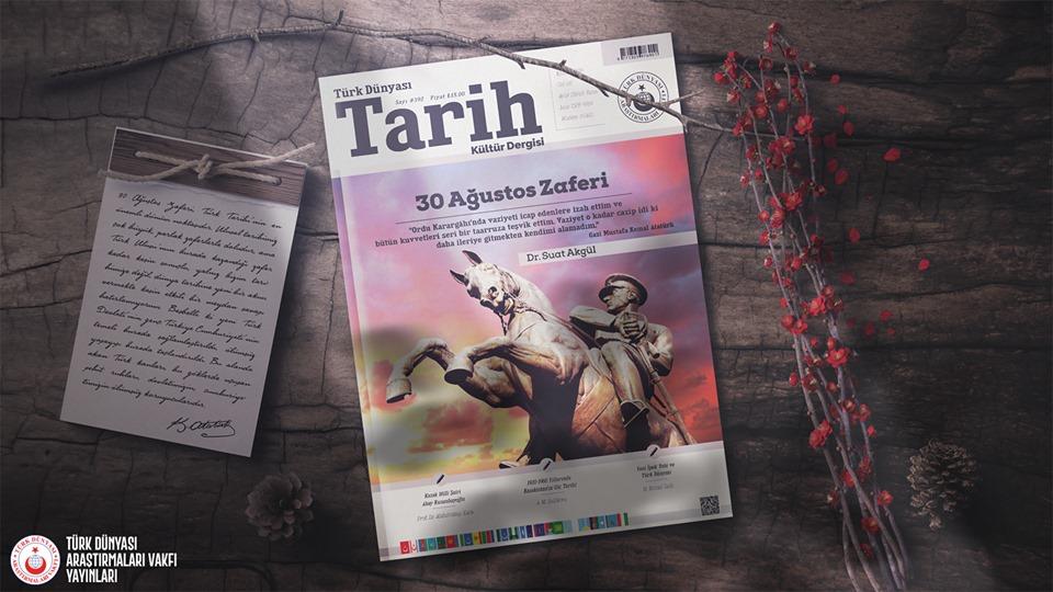 Türk Dünyası Tarih Kültür Dergisi 392. sayısı çıktı
