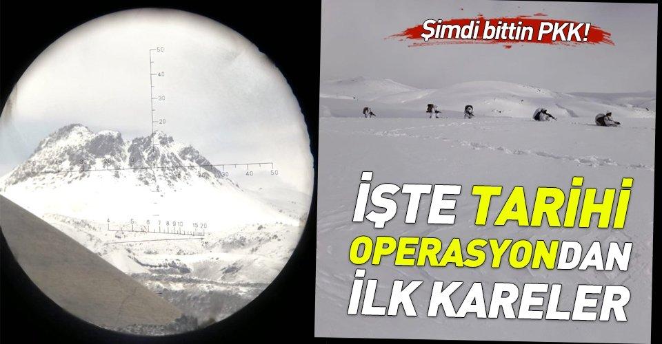 Türkiye ile İran'ın PKK'ya düzenlediği ortak operasyon.