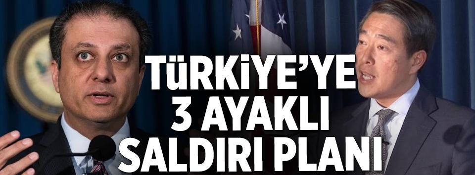 Türkiye'ye 3 ayaklı saldırı planı.