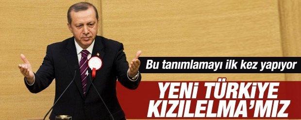 """""""Yeni Türkiye bizim 'Kızılelma'mız"""""""