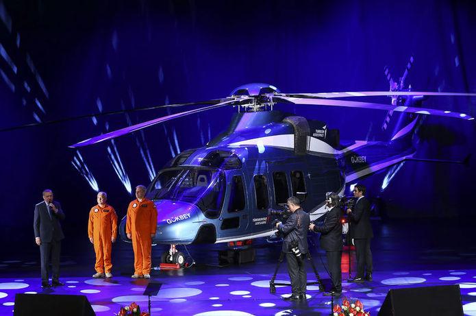 Yerli helikopterin adı açıklandı: Gökbey