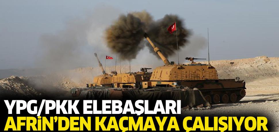 YPG/PKK Afrin'den kaçıyor!