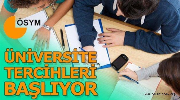 Üniversite Tercihleri