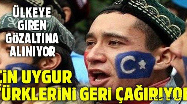 Uygur Türklerine karşı Çin zulmü artıyor