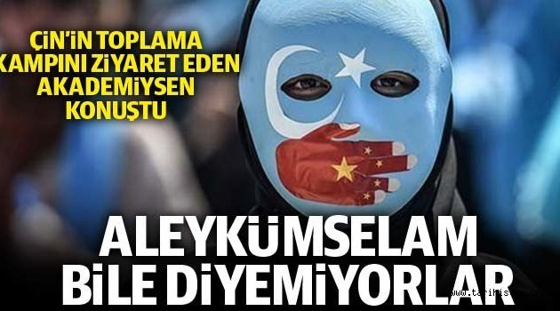 'Uygur Türklerine kimliklerini unutmaları için baskı yapılıyor'