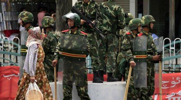 """Uygurlara """"Çin işkencesi"""""""