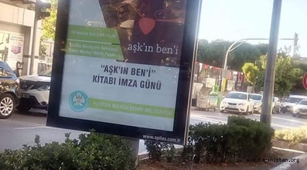Yazar Naci YENGİN Manisa'da afişlerde