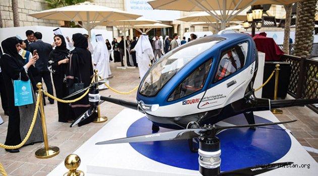 Yolcu taşıyan drone'lar