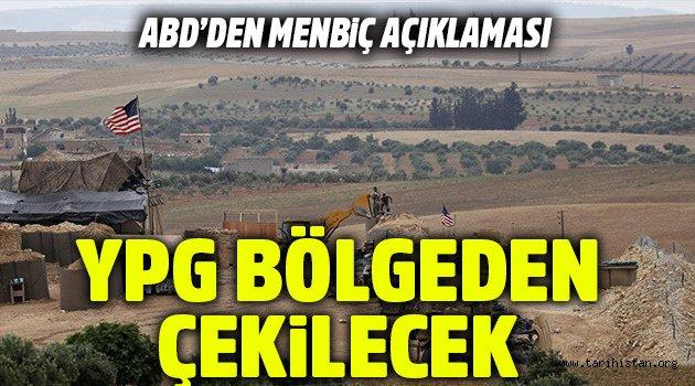 YPG bölgeden çekilecek