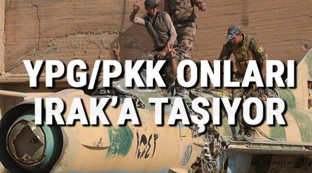 YPG/PKK o hurdaları Irak'a taşıyor