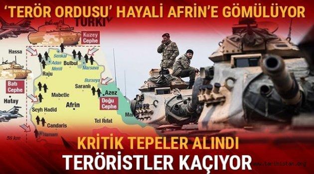 Zeytin Dalı Harekatı 5. gününde: 268 terörist etkisiz hale getirildi