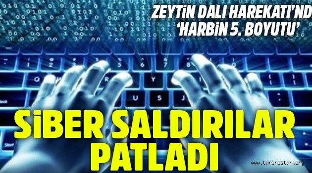 Zeytin Dalı Harekatı'nda siber saldırılar patladı