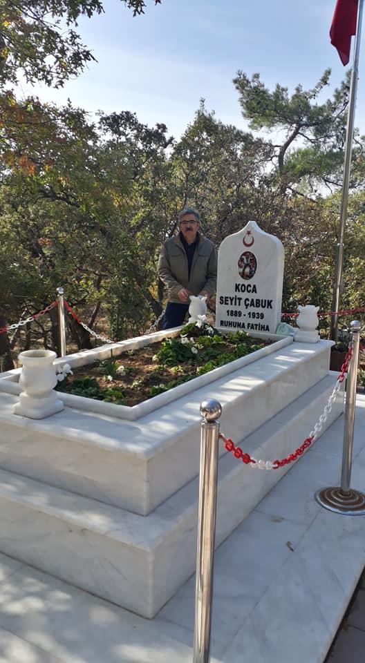 Çanakkale Kahraman Seyit Onbaşının Mezarı