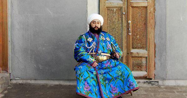 Buhara Emiri Alim Han Ve Ailesi