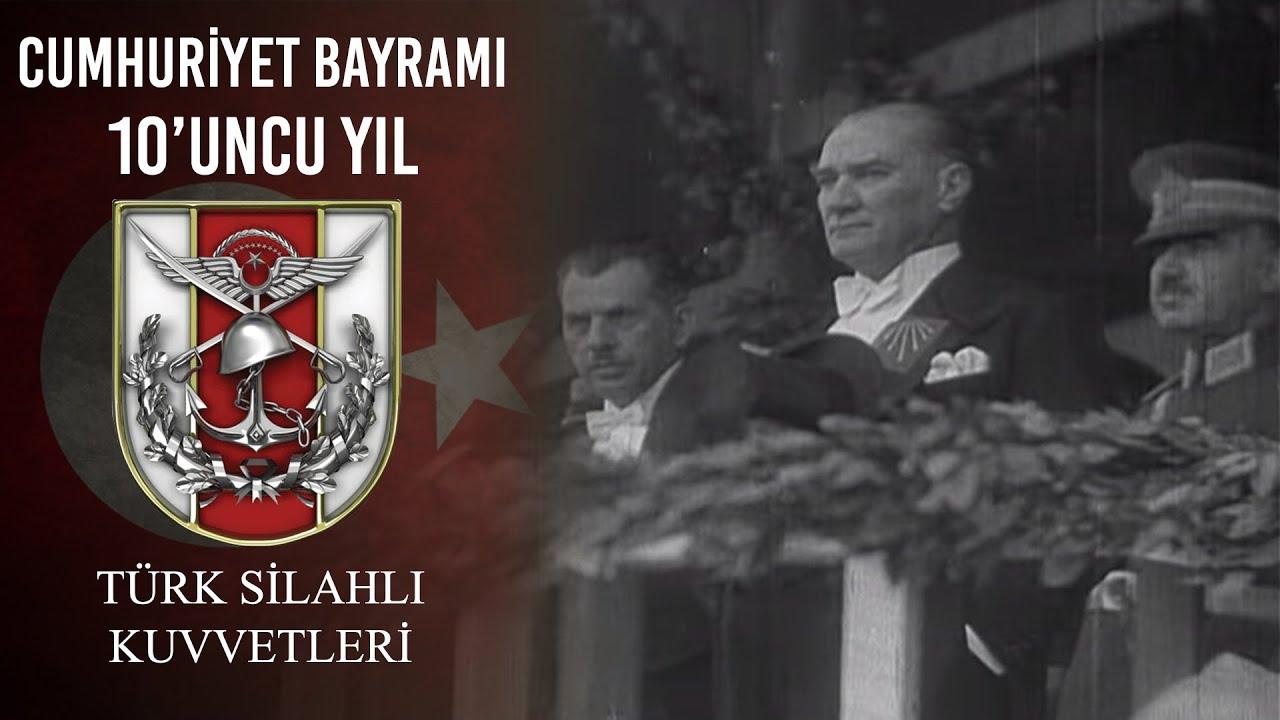 Cumhuriyetin 10. Yılı Kutlamaları, Atatürk